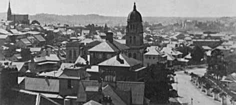 View of Brisbane. c. 1925. Brisbane City Council. BCC-B120-23552.