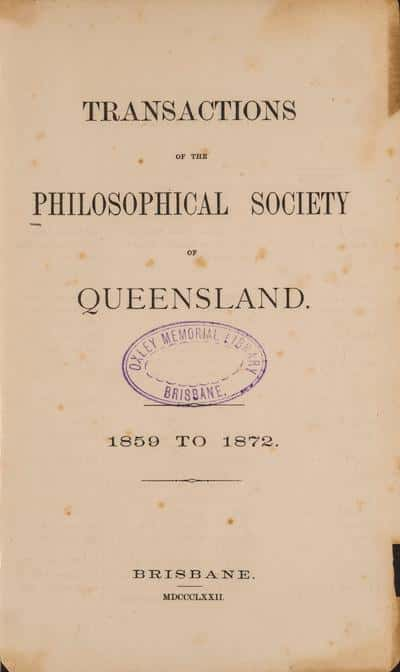 Royal Society of Queensland